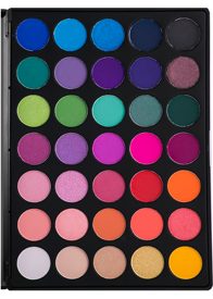 Morphe 35 Color Glam Eyeshadow Palette 35B